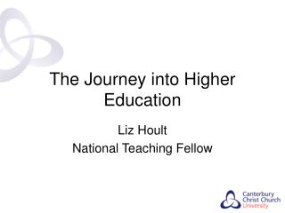The Journey into Higher Education