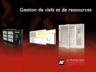 Présentation d'un système électronique de  gestion des ressources avec traçabilité