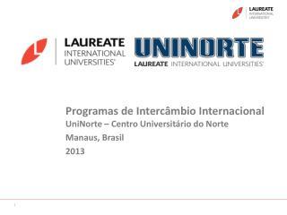 Programas de Intercâmbio Internacional