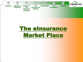 The eInsurance Market Place