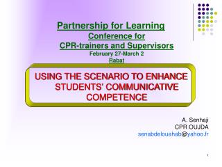 Partnership for Learning