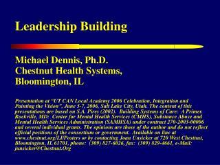 Leadership Building