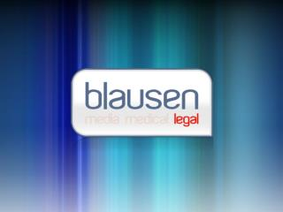 Blausen Legal Marketing Proposal