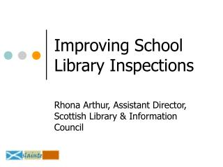 Improving School Library Inspections