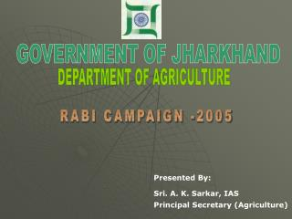 DEPARTMENT OF AGRICULTURE