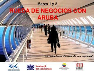 RUEDA DE NEGOCIOS CON  ARUBA