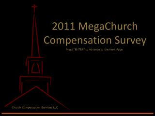 2011 MegaChurch Compensation Survey