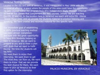 Veracruz Testing Center