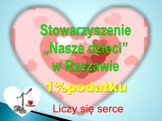 """Stowarzyszenie  """"Nasze dzieci""""  w Rzezawie"""