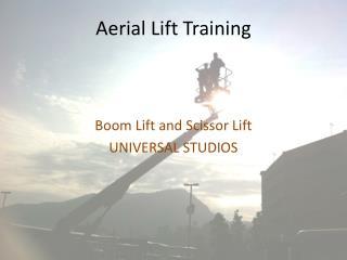 Aerial Lift Training