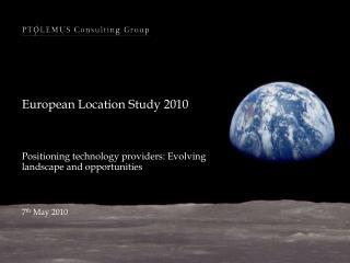 European Location Study 2010