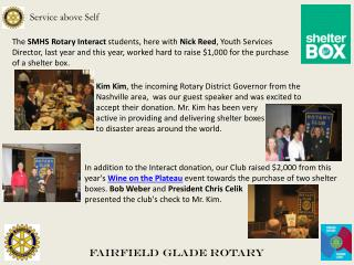 Fairfield Glade Rotary