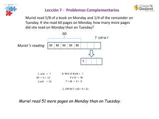 Lección 7 -  Problemas Complementarios