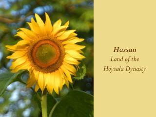 Hassan Land of the  Hoysala Dynasty