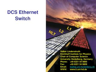 DCS Ethernet Switch