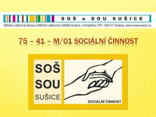 75 – 41 – m/01 Sociální činnost