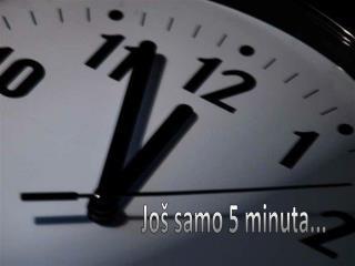 Još samo 5 minuta...