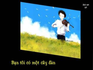 Caùm ôn anh  Minh  Tuaán ñaõ phoå thô thanh Höông