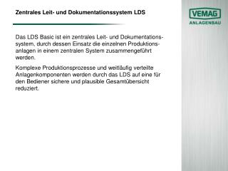 Zentrales Leit- und Dokumentationssystem LDS