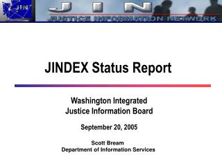 JINDEX Status Report