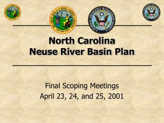 North Carolina  Neuse River Basin Plan