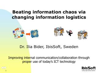 Beating information chaos via changing information logistics