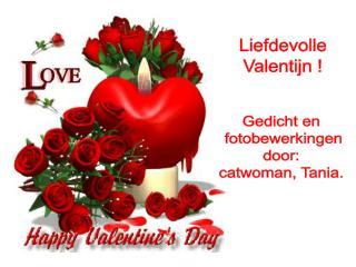Liefdevolle Valentijn !