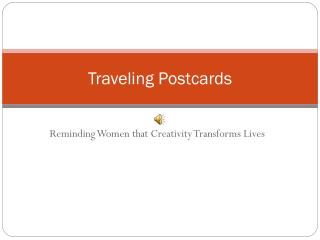 Traveling Postcards