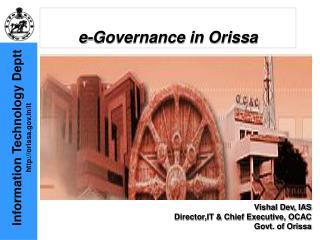 E-Governance in Orissa