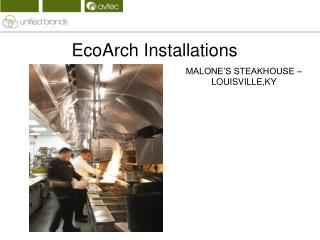 EcoArch Installations