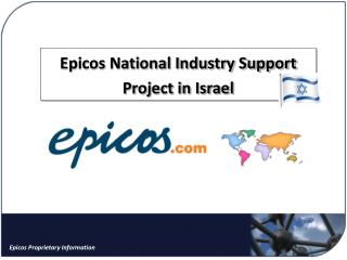 Epicos National Industry Support Project in Israel