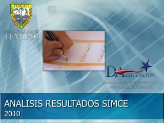 ANALISIS RESULTADOS SIMCE