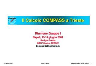 Il Calcolo COMPASS a Trieste
