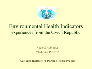 Environmental Health Indicators experiences from the Czech Republic
