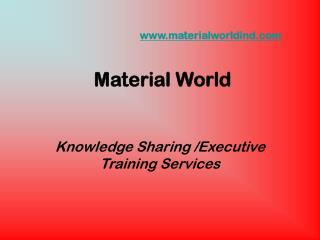 materialworldind Material World