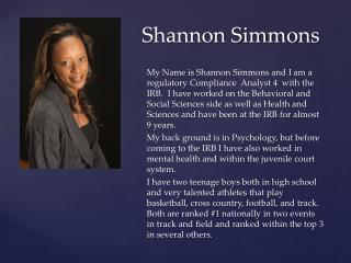 Shannon Simmons