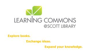Explore books.   		Exchange ideas.	 				Expand your knowledge.