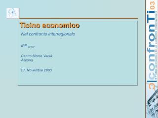Ticino economico