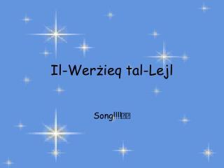 Il-Werżieq tal-Lejl