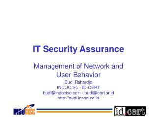 IT Security Assurance