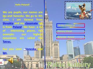 Hello Poland !