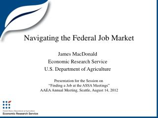Navigating the Federal Job Market