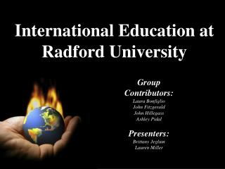 International Education at  Radford University
