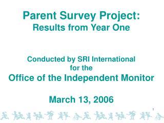 The Parent Interview
