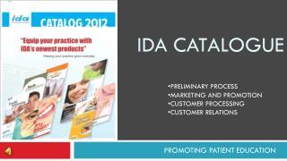 Ida catalogue