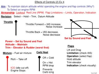 Effects of Controls (2) Ex 4