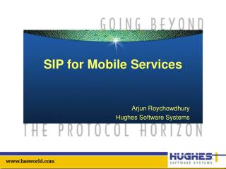 SIP for Mobile Services