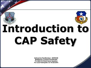 Introduction to CAP Safety