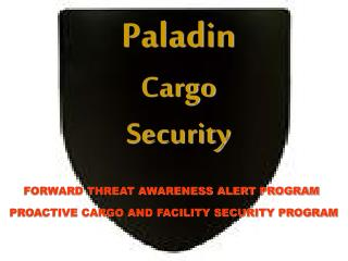 Paladin Cargo Security