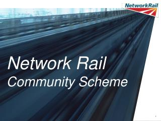 Network Rail Community Scheme